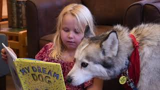 Leavenworth Public Library introduces Read To A Dog