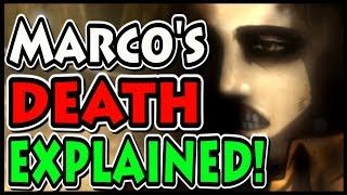 THE SECRET BEHIND MARCO'S DEATH EXPLAINED! (Attack on Titan / Shingeki no Kyojin How Marco Died)