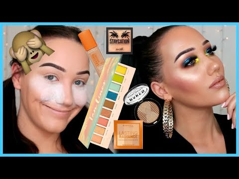 FULL FACE OF FIRST IMPRESSIONS! RIMMEL FOUNDATION, JOUER TAN LINES PALETTE | MAKEMEUPMISSA