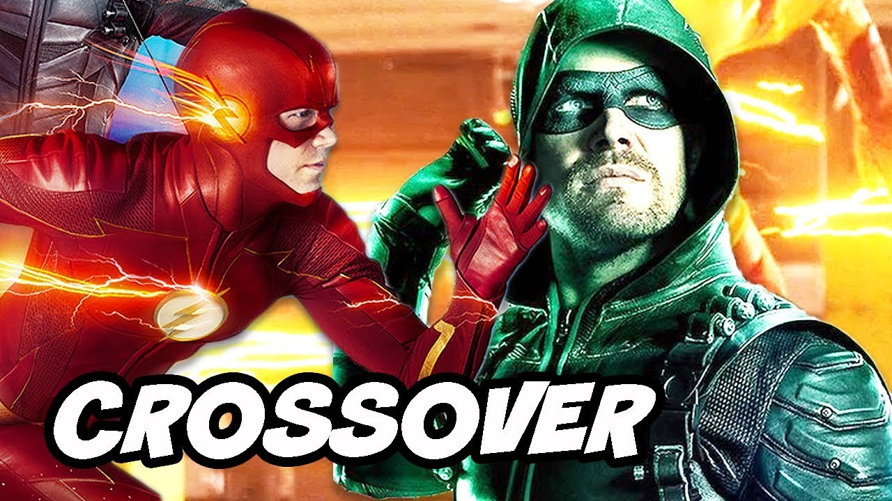 The Flash Season 5 Episode 13 and Arrow Scene Crossover Explained