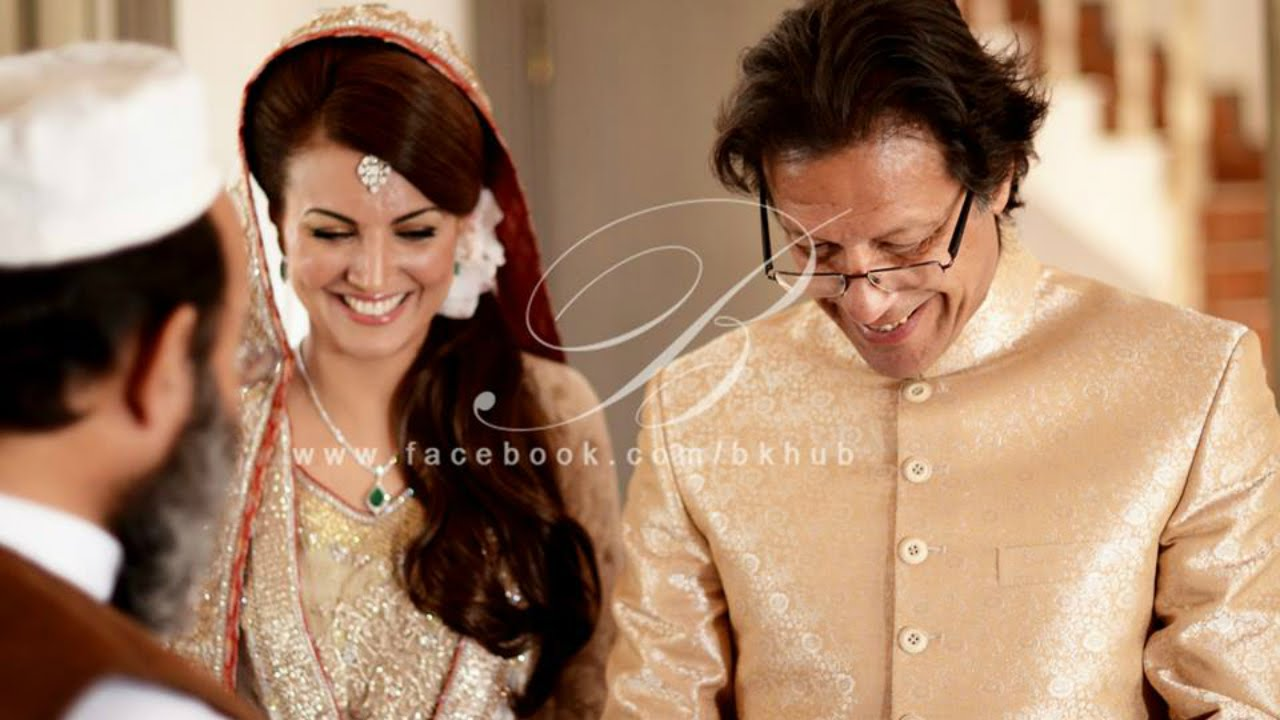 Imran Khan And Reham Khan Wedding Photoshoot Official