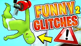 Flying Baby Glitch & LONGEST HAND EVER - Who's Your Daddy 2 Funny Moments (w/ Double)