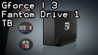 Gforce | 3 - Fantom Drives | 1 TB External