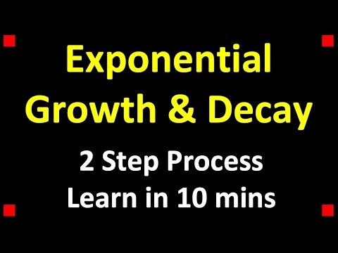 Exponential Growth & Decay Examples