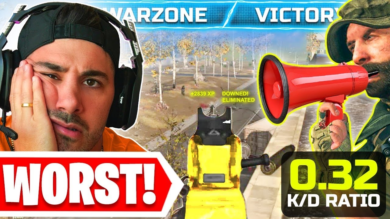 I Let The WORST Warzone Player Coach Me! 😯 ($1000 BET!)