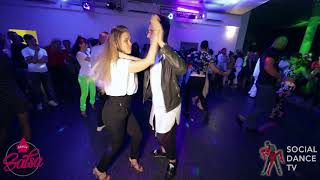 Jonatha Casarin & Outi Törnwall - Salsa Social Dancing | GRAZy Salsa Festival 2019 (Graz, Austria)