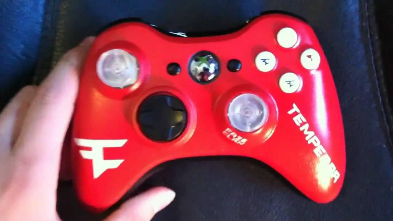 FaZe Temperrrs NEWEST Custom Controller YouTube