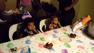 The Twins happy birthday song