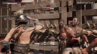 Ryse: Son of Rome single player arena