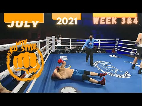 Boxing & MMA Knockouts | July 2021 Week 3 & 4
