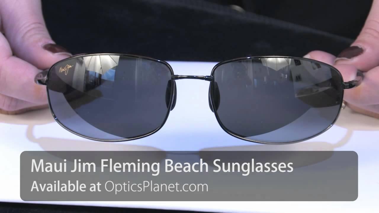 964aa4ba4a8c3 Maui Jim Fleming Beach Sunglasses - OpticsPlanet.com Product in Focus