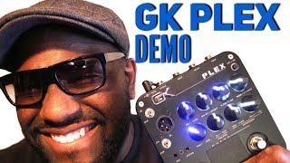 GK Plex Preamp Demo ~ Gallien Krueger Bass Guitar Pedal