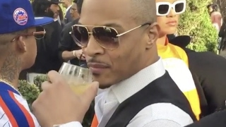 "T.I. ""Flirts With Rihanna At Grammy Party RiRi Ain"