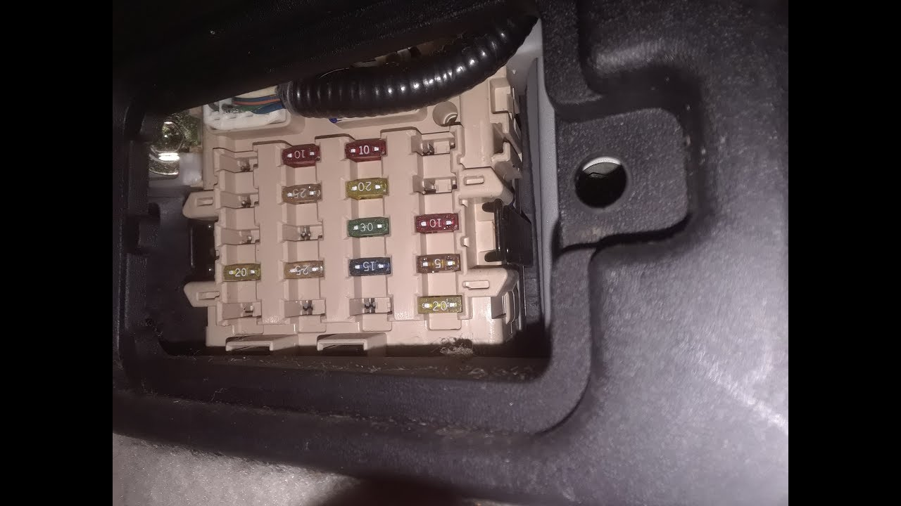 Lexus GS 400 Fuse Box Locations - YouTubeYouTube