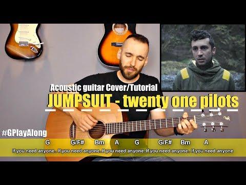 twenty one pilots- Jumpsuit Guitar Cover Tutorial (lyrics|chords|MusicSheet)