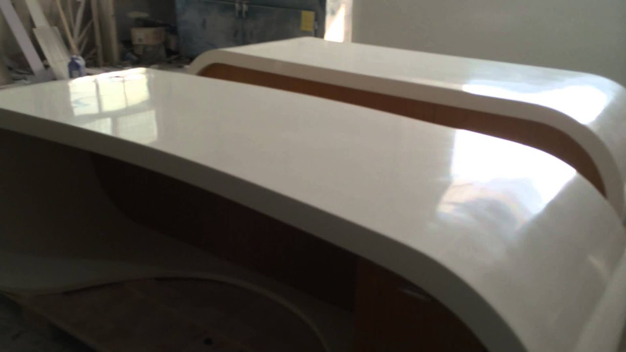 Artificial Stone Corian Google Office Desk Corian Bar Counter - Corian conference table
