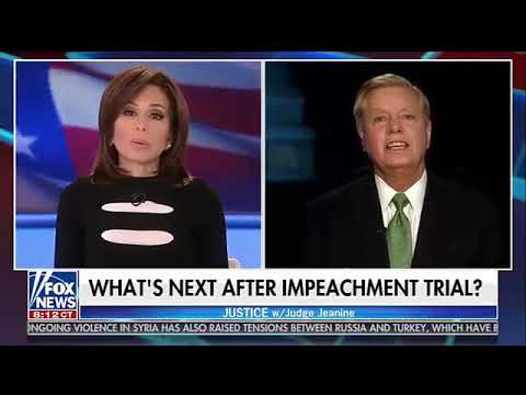 Judge Jeanine and Lindey Graham on post impeachment