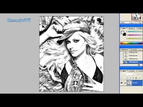 Como hacer una foto caricatura en photoshop cs4 65