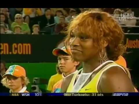 Serena Williams VS Lindsay Davenport Highlight Australian Open 2005 Final