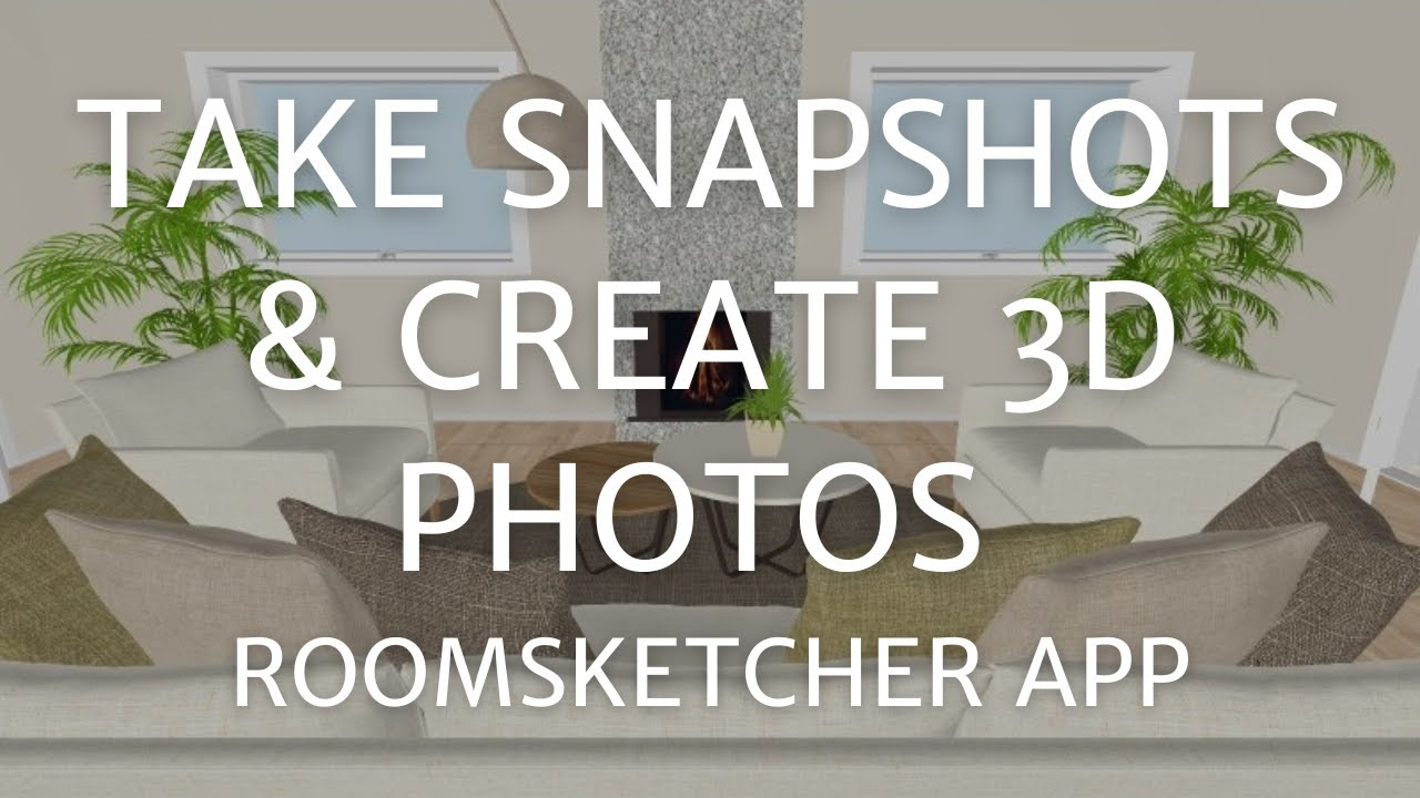Take Snapshots and Create 3D Photos - Home Designer App - YouTube