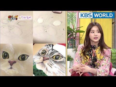 BoReum Is An All-around Entertainer? She Can Draw Like A Painter [Happy Together/2018.01.25]