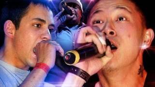 Saint vs Jin - Rap Battle @ Jin Concert [UK vs USA]