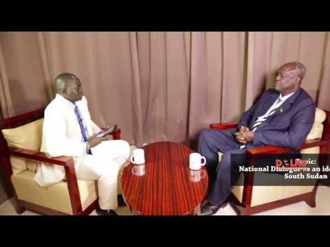 Kuol Manyang Juuk Proposes South Sudan National Dialogue