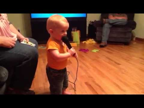 Benny's first karaoke selection