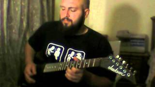 In Mourning - Celestial Tear Guitar Cover