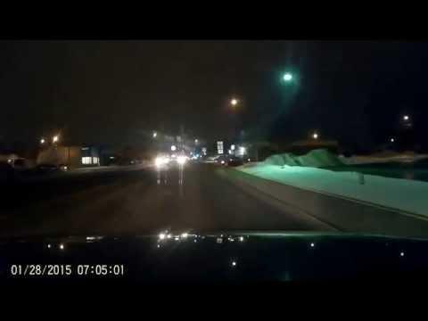 BlackBox Dash Cam G1W B Night Time Test