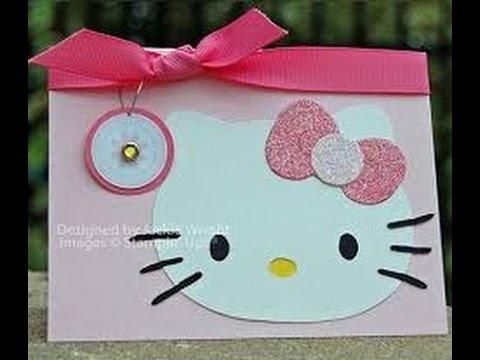 28 Ideas Para Hacer Invitaciones De Hello Kitty