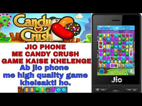 JIO PHONE ME CANDY CRUSH GAME KAISE KHELENGE || JIO PHONE ME #GAMES NEW UPDATE 2019 ||