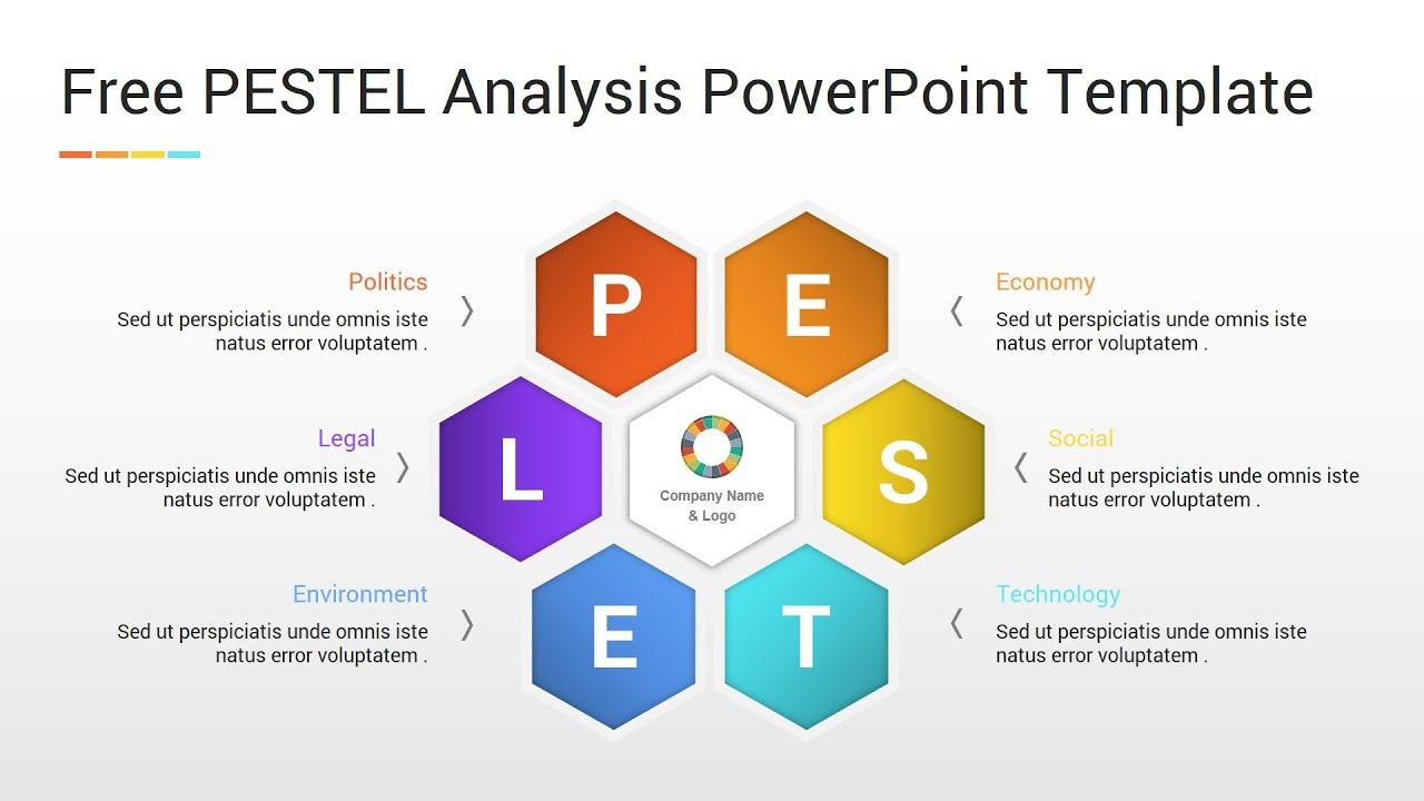 Free PESTEL Analysis PowerPoint Template - YouTube For Pestel Analysis Template Word 2