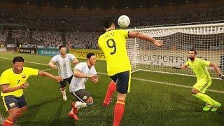 Colombia vs Argentina (Copa Mundial Rusia 2018 de FIFA, Eliminatorias) | FIFA 17 Simulacion