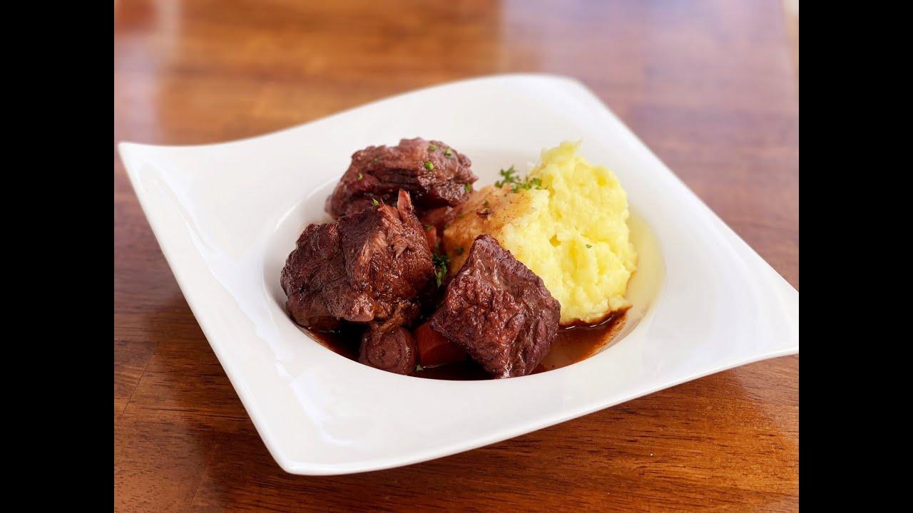 Instapot Beef Bourguignon
