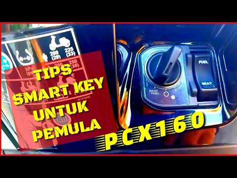 Cara Menggunakan Smart Key Atau Keyless Key Pada HONDA PCX 160 Buat Pemula
