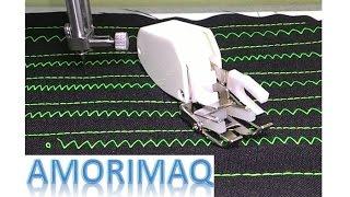 Como fazer a instalação do calcador quilter reto na máquina de costura