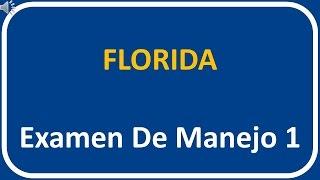 Examen De Manejo De Florida 1