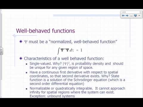 Physical Chemistry Lecture - QM Postulates Part 1