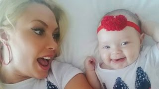 Coco Austin Posts Adorable Pic of Baby Chanel 'Chilling' With Her Puppy 'Crew'