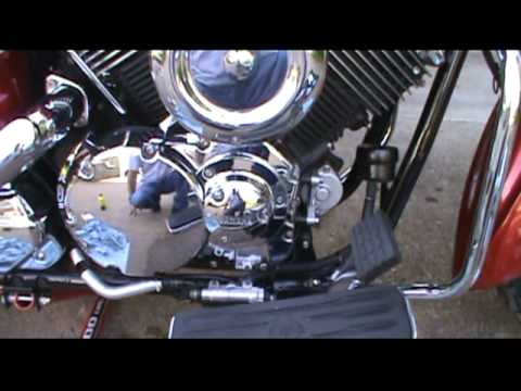 2008 Yamaha V Star 1100 Classic Oil Change Part 2mpg - YouTube