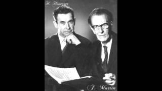 Frank Martin - Ballade Cello & Piano