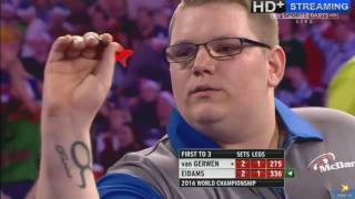 Almost the biggest shock in the history of darts