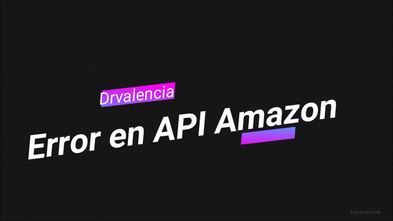 Error Amazon API en Wordpress con Amazon Import - ★ Solución en todo con  Drvale★