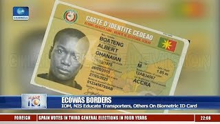 IOM, NIS Educate Transporter On Biometric ID Card