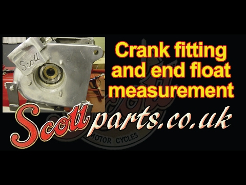 Scott crank assembly, splitting and end float - Scottparts