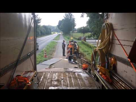 Schermbeck-Online.TV - Verlegung Deutsche Glasfaser - Von Schermbeck-nach Erle
