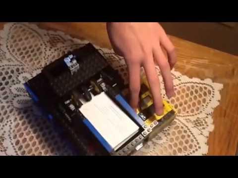 Lego business card dispenser youtube lego business card dispenser colourmoves