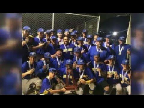 Jefferson High School Baseball Team Win State Championship