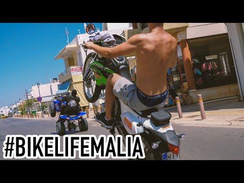 **EXTREME WHEELIES IN GREECE / CRETE** #BIKELIFEMALIA RIDE OUT!!!
